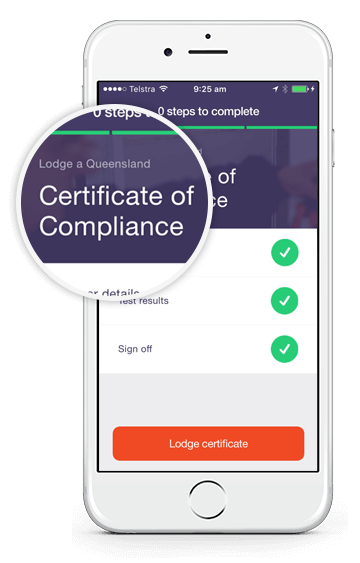 Electrical Compliance app